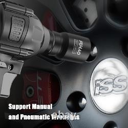 27Pcs 3/4 Inch Drive Heavy Duty Deep Impact Socket Set 21-65mm 6 Point Metric