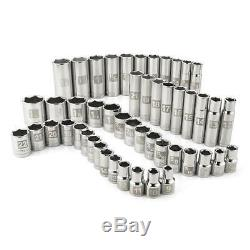 Craftsman ALL 6 POINT 1/2 Inch Drive 49 Piece Socket Set Standard and Deep