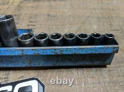 MATCO TOOLS 14-PIECE 3/8-DRIVE DEEP IMPACT SOCKET SET METRIC 6-POINT 8mm-24mm
