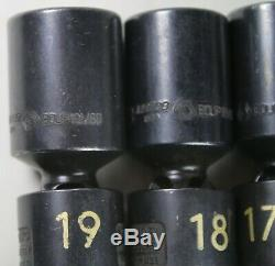 Matco 5 Piece 3/8 Drive 6 Point Metric Deep Universal Impact Swivel Socket Set