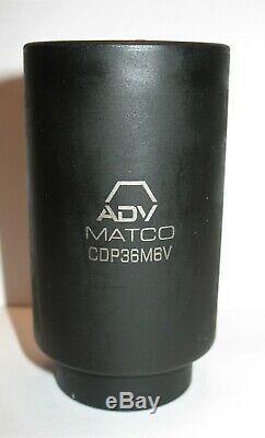 Matco Scdpm266v 1/2 Drive Adv 26 Piece Metric 6 Point Deep Impact Socket Set