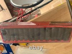 NEW Snap-On 13 Piece 1/2 Drive 6-Point SAE Flank Drive Deep Impact Socket Set