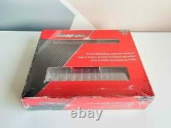NEW Snap On 24-pc 1/4 6-Point Flank Drive ShallowithDeep Socket Set 124STTMM