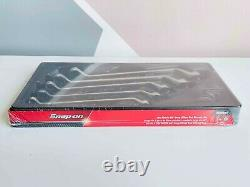 NEW Snap On 5-pc 12-Point Flank Drive 60° Deep Offset Box Wrench Set XOM605