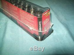 NEW Snap-on 1/4 drive 5 thru 15 mm 6-point FDX DEEP Socket Set 112YSTMMY
