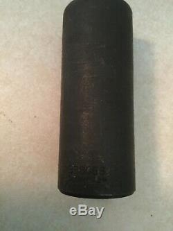SNAP ON 315SIMMYA 15 Piece Deep 1/2 Drive Impact Socket Set 6-Point 10-24mm