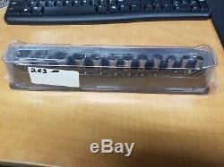 Snap-O 12 pc 3/8 Drive 6-Point Metric Flank Drive Semi-Deep Socket Set(8-19 mm)