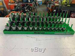 Snap-On 3/8 Drive Metric Deep Semi-Deep and Shallow socket sets 8-20mm 6 point