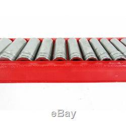 Snap-On 313TSYA 13 pc 1/2 Drive 6-Point SAE Flank Drive Deep Socket Set