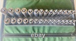 Snap On Shallow And Deep Sockets Sets 3/8 Drive 29 pc 6-Point Metric Buy