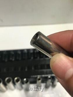 Snap On Tools 11Pc Metric 1/4 Drive Deep Socket Set 5MM-14MM 6 points