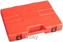 Sunex 2569 1/2-Inch Drive Metric Impact Socket Set, Standard/Deep 6-Point, Cr-MO