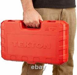TEKTON 1/2 Inch Drive Deep 6-Point Impact Socket Set, 14-Piece (25-38mm) SID92333
