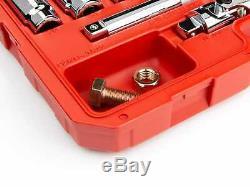 Tekton 3/4 Drive Deep Socket Set Metric 6 Point 19mm to 50mm 27 Piece SKT35206